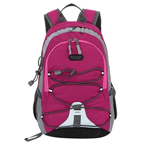 OYSOHE Unisex Rucksack, Jungen Mädchen Wasserdichte Kontrastfarbe Schultasche Kleiner Rucksack Freizeit Trekking Wanderrucksack Outdoor by