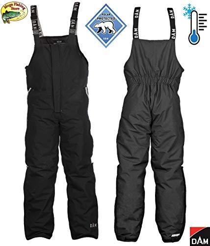 D A M B&B Winter Thermo Hose - Outdoor Latzhose Angelhose/Skihose - Ski Angeln (XL)