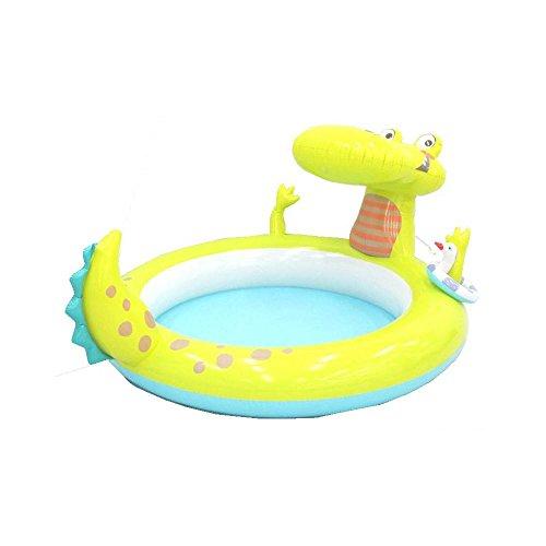 piscinette Brunnen aufblasbar Alligator