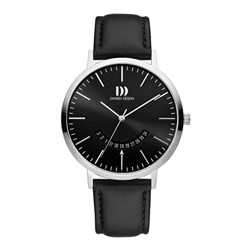 Danish Design Reloj Analógico para Hombre de Cuarzo con Correa en Cuero IQ13Q1239