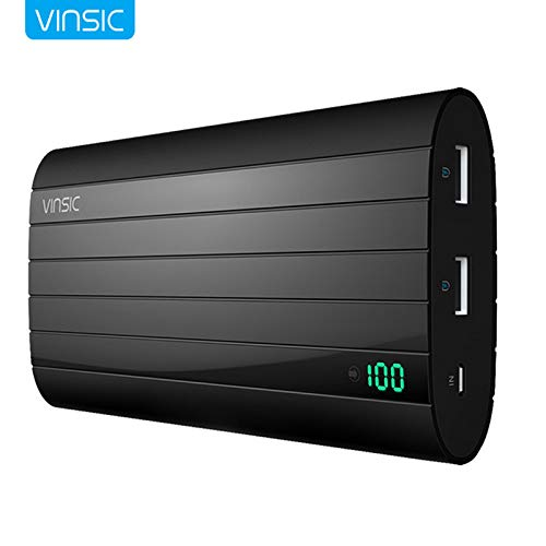 HAMISS VSPB206b Portable Power Bank 20000 mAh Super-Large Capacity Portable Charger Rechargeable External tery Pack Powerbank