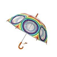 SMATI Kids Umbrella Rainbow - The Enhanced Edition- Fluorescent Border safty to Children in The Darkness