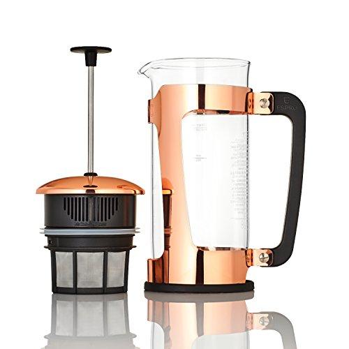 Espro Press P5, French Press, für Kaffee, Edelstahl, Kupfer, Verschiedene Größen 0,55 l