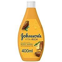 JOHNSON'S Body Wash - Vita-Rich, Nourishing Cocoa Butter, 400ml