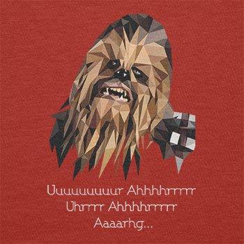 TEXLAB - Poly Chewie - Herren T-Shirt Rot
