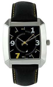 Fastrack OTS Core Analog Black Dial Men's Watch -NK9336SL03