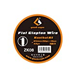 Geekvape Kanthal A1 Prebuilt Vape Coil Wire Flat Clapton for RDA RTA RBA