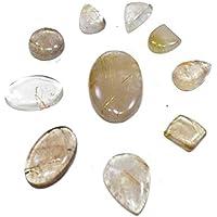 Natural Golden Rutile Cabochon Set Of 3 Chakra Healing Crystal, Meditation Stones, Yoga Crystals, Spirituality... preisvergleich bei billige-tabletten.eu