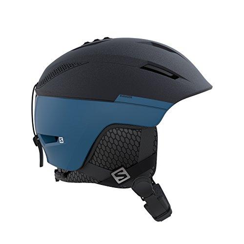 Salomon Herren Ski und Snowboardhelm für die Piste, EPS 4D-Innenschaum, blau, M, Kopfumfang 56-59 cm, Ranger², L39912900