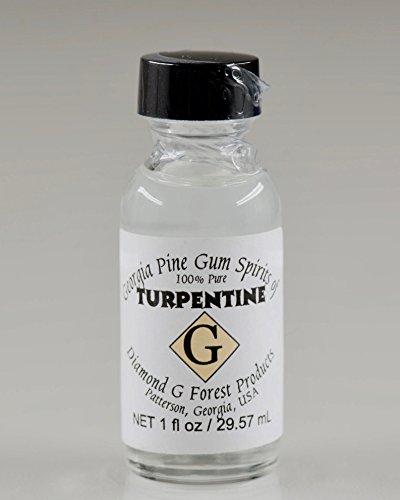 Diamond (Diamond G Forest 100% Pure Gum Terpentinöl 1 Unze Flasche)