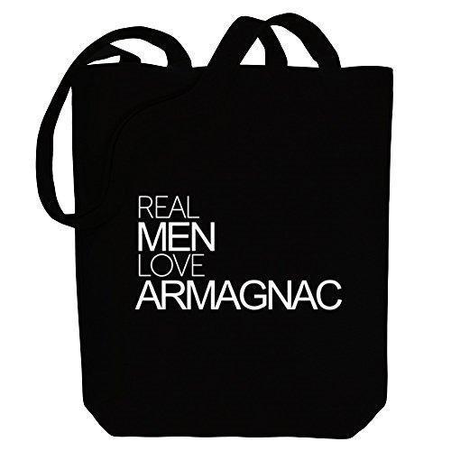Idakoos Real Men Love Armagnac - Getränke - Bereich für Taschen
