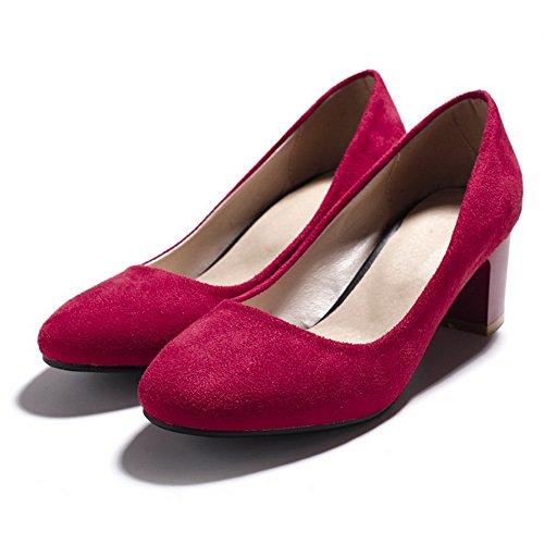 BalaMasaApl10287 - Sandali con Zeppa donna Red