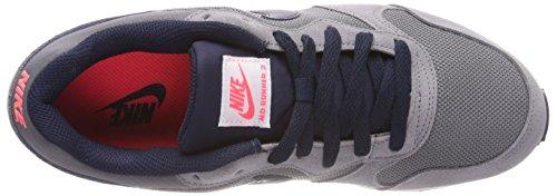 Nike Herren MD Runner 2 Gymnastikschuhe Grau (Gunsmokeobsidianhot Punchva 007)