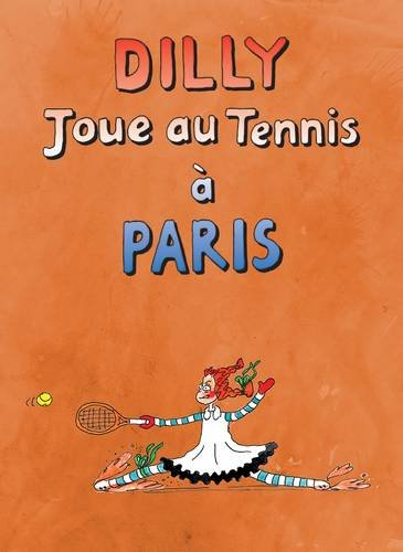 Dilly Joue au Tennis a Paris par Christine Truman