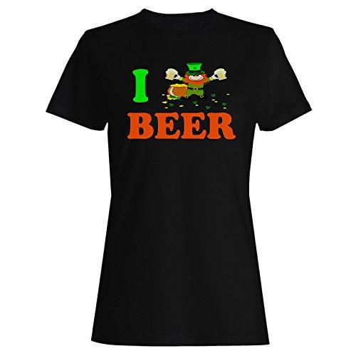 Bier irisch neuheit lucky lustig st. Patricks Tag Damen T-shirt (Damen Tag Shirt Patricks St)