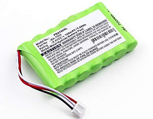 subtel® Qualitäts Akku kompatibel mit Brother P-Touch 7600VP, PT 7600VP (700mAh) BA-7000, BA7000 Ersatzakku Batterie