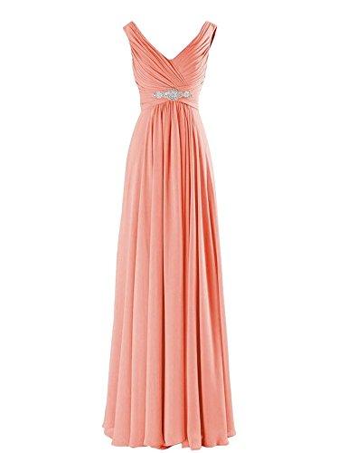 Drasawee Damen Empire Kleid 6#