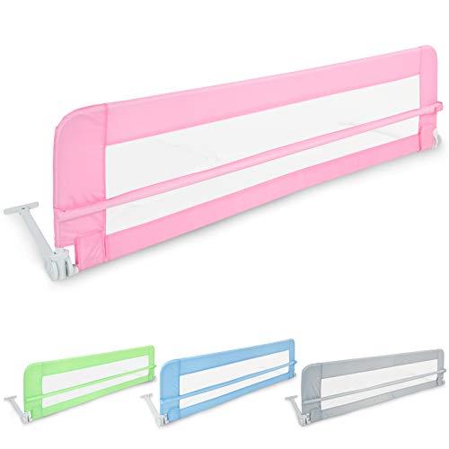 Plegable barrera cama (102 / 42cm - 150 / 42cm) | en tamaño y color a elegir | Protectores de cama, Rieles de cama de bebé, Protección contra caídas, Barandilla cama