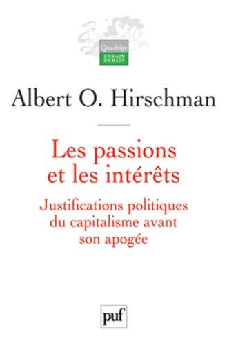 Les passions et les intérêts
