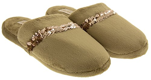 Studio Fersenbereich Beige Offener Damen Footwear dzCqw4d