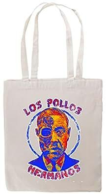 Tshirtmadness Los Pollos Hermanos Gustavo Fring Mastermind T-Shirt Tote Bag