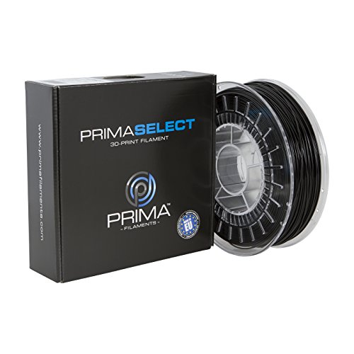 Prima Filaments PS-PETG-175-0750-SBK PrimaSelect PETG Filament, 1,75 mm, 750 g, Solid Schwarz