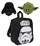 Star Wars-The Clone Wars Darth Vader Jedi Yoda Garçon Sac à dos - noir -