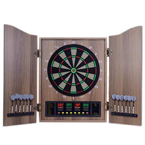 JLDN Elektronische Dartscheibe, Office Home Outdoor-Brettspiele, Segmente für verbesserte Haltbarkeit und Spielbarkeit,69cm*52cm