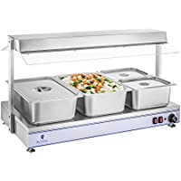 Royal Catering - RCHP-120 - Calienta Platos - 2000 W - hasta 110 °C - 120 x 50 cm - Envío Gratuito