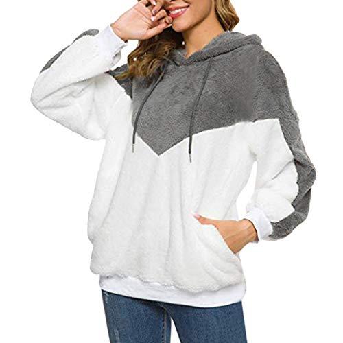 Luckycat Abrigo Invierno Mujer Chaqueta Cálido Suéter