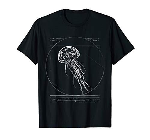 Medusa Kostüm Hut - Strand Vitruvianische Qualle Bild Meduse Geschenk Quallen T-Shirt