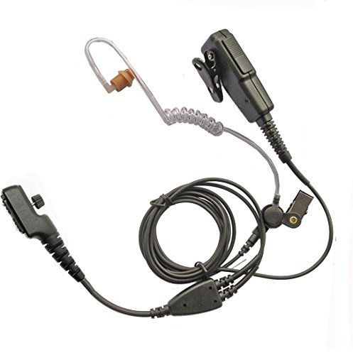 Hytera PD705, PD785, PT580 earpiece, high quality two wire covert, long  cabling