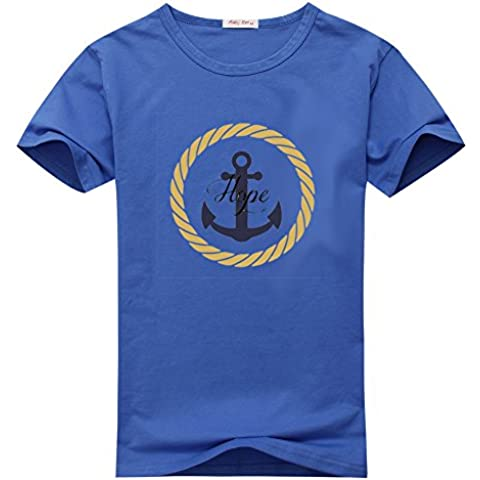 Cliff Don Anchor ComfortSoft Womens Short Sleeve Cotton T-Shirts