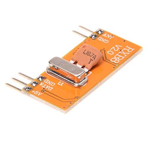 Remote Control Receiver Module - TOOGOO(R)433M High Sensitivity Wireless Remote Control Receiver Module RXB8 DC 2.4 ~ 5V