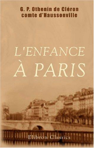 L\'enfance à Paris