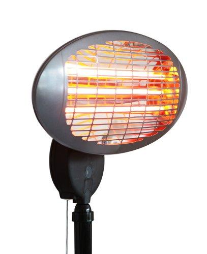 Lampada riscaldante con piedistallo - 3 settaggi di potenza