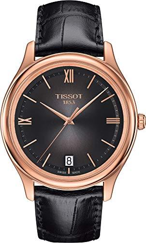 Tissot Fascination 18KT Gold Q T924.410.76.308.00 Reloj de Pulsera para Hombres