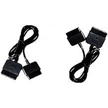 2x Playstation 2 Controller,Gamepad,Verlängerungskabel für PS2,PS1,für Playstation 1 und 2