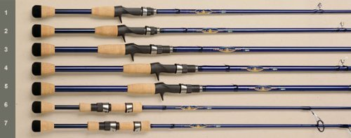 St. Croix Legend Tournament Bass Spinning Rod TBS610MXF by ST. CROIX
