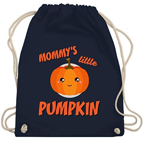Anlässe Kinder - Mommys little Pumpkin Halloween - Unisize - Navy Blau - WM110 - Turnbeutel & Gym Bag
