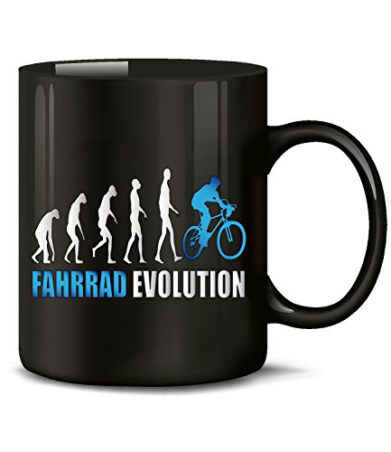 FAHRRAD EVOLUTION 2059(Schwarz-Blau)