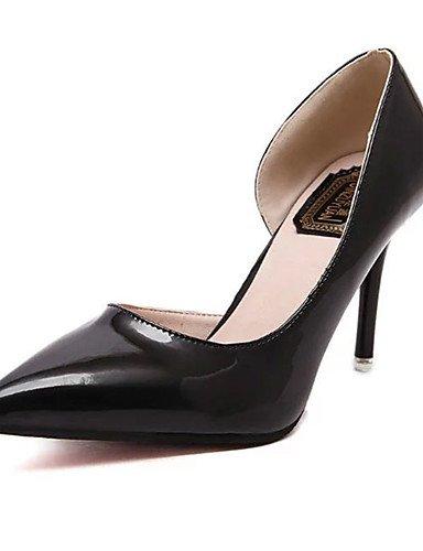 WSS 2016 Chaussures Femme-Décontracté-Noir / Rose / Argent-Talon Aiguille-Talons-Chaussures à Talons-Polyuréthane pink-us7.5 / eu38 / uk5.5 / cn38