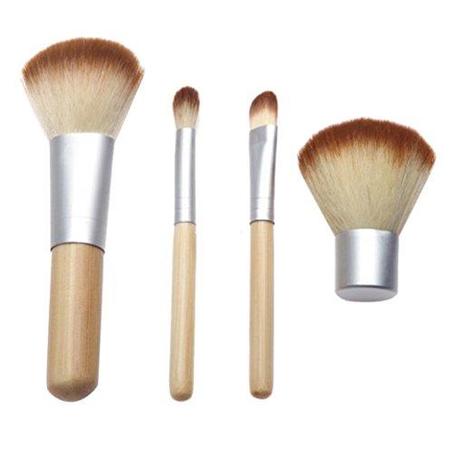 Fami Maquillage brosse cosmétiques Pinceaux teint poudre Pinceau fard à paupières