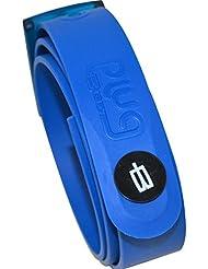 PlugBelt & Ball Marker Royal Blue - Cinturon de golf para hombre, silicona, unitalla, biodegradable, resistente y libre de metales.