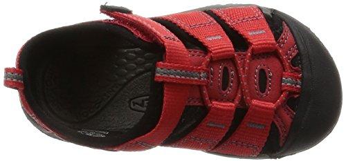 Keen Newport H2, Scarpe da Arrampicata Bambino Rosso (Ribbon Red/Gargoyle)