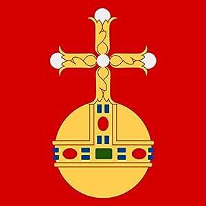 DIPLOMAT Flagge Uppsala   Fahne 0.06m²   25x25cm für Flags Autofahnen