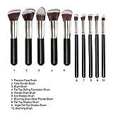 Generic Phenovo Makeup Brushes Set Tool Pro Foundation...