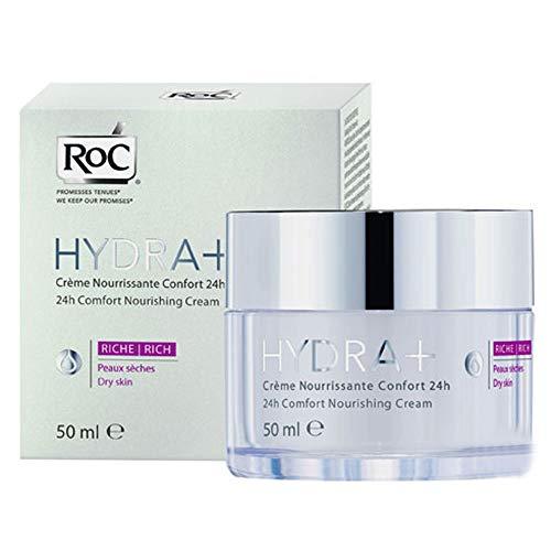 roc hydra+ creme nourrissante confort 24h riche 50ml