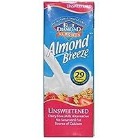 Blue Diamond | Almond Breeze - Unsweetened | 8 x 1L