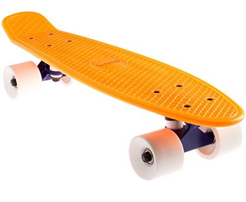Preisvergleich Produktbild SportPlus EZY! Mini-Cruiser,  56 cm,  Retro Skateboard,  ABEC 5,  Sicherheit geprüft nach EN 13613